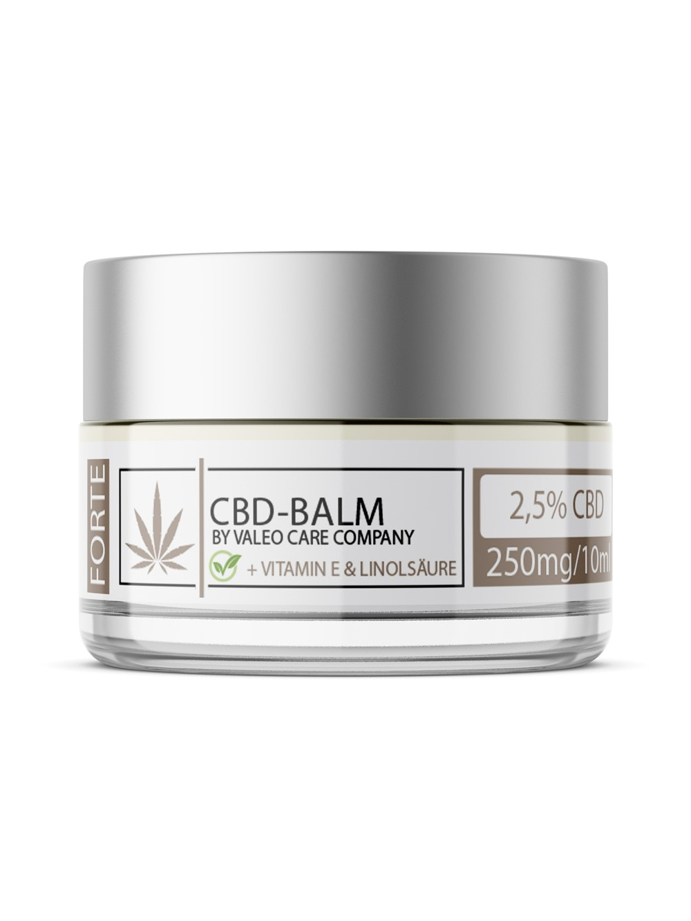 CBD Supreme Balsam / 10ml 2.5% CBD + Vitamin E & Shea Butter