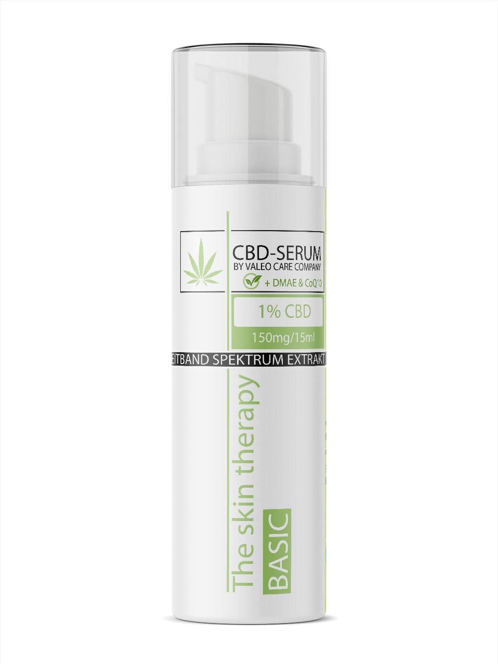 CBD Supreme Serum / 15ml 1% CBD +CoQ10, Hyaluron & Retinol