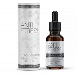 """""""Anti Stress"""" CBD Vollspektral-Öl mit 10% Glutamin Aminosäure"""
