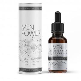 """""""Men Power"""" CBD Vollspektral-Öl mit 10% L-Arginin Aminosäure"""