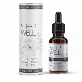 """""""Sleep Well"""" CBD Vollspektral-Öl mit 10% Gaba Aminosäure"""