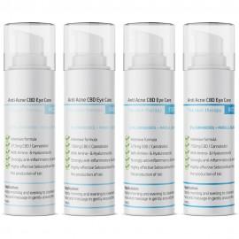 Anti Akne CBD Augenpflegelotion / 15ml 0,25- 5% CBD + Hyaluron & Aminosäuren