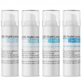 Anti Akne CBD Nacht-Lotion / 30ml 0,25 - 5% CBD + Vitamin C&E & Teebaumöl