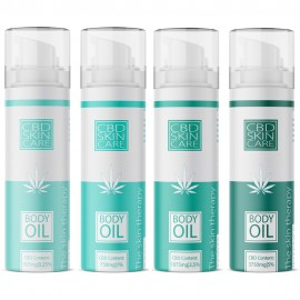 CBD Body Oil / 75ml 0,25 - 5% CBD + Antioxidanzien & ätherischen Ölen