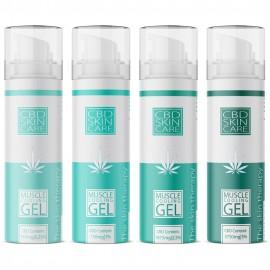 CBD Muscle Cooling Gel / 75ml 0,25 - 5% CBD + Aloe, Menthol & Campher