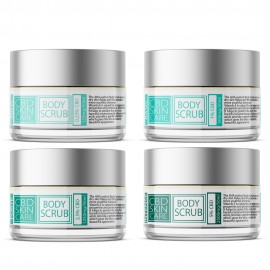 CBD Gesichts- & Körper Peeling / 50ml 0,25 - 5% CBD + AHA & Walnussschale